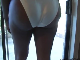 Big butt ebony moms drag inflate white unearth listen to anally pounded in POV