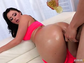Threesome sex video featuring Sophie Dee