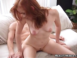 Anal drilling sex video featuring Collin and Jade