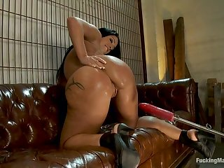 Fetish porn video featuring Monica Santhiago and Dragon Lily