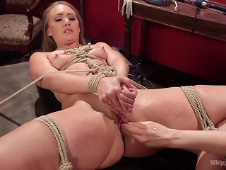 AJ Applegate flagellated, Fisted and rectally tie in dildo boinked wits Lorelei Lee